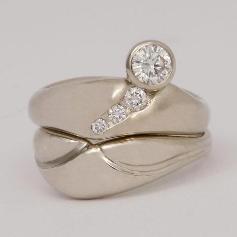 Diamond Engage Ring Set 3277RS