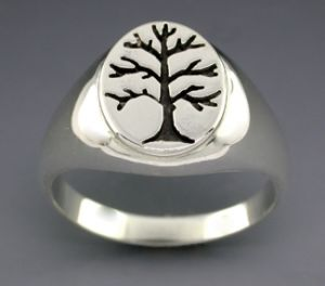 sterling silver s berkshire tree ring