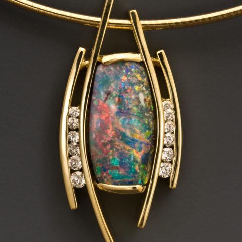 Boulder Opal Diam 1 2751PES