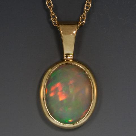 Ethiopian opal pendant archives ethiopian opal pendant mozeypictures Choice Image