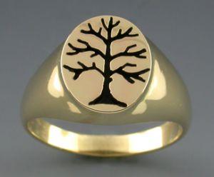 14k s berkshire tree of life ring