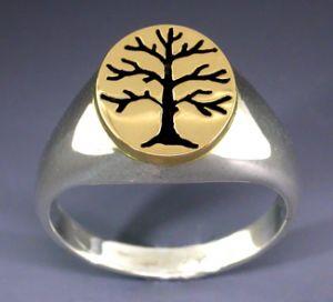 sterling 14k s berkshire tree of life ring