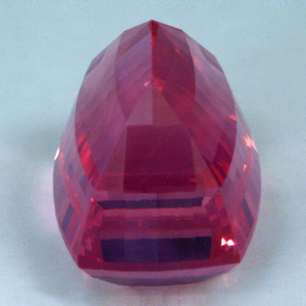 2 41 Carat Pink Spinel Cushion Cut 8x5 Mm